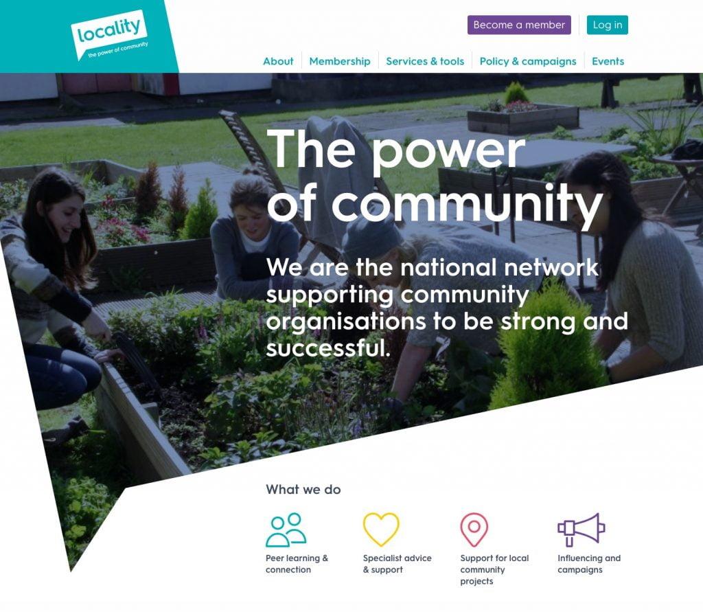 locality web design inspiration